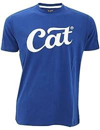 Caterpillar Script - T-shirt à manches courtes 100% coton - Homme