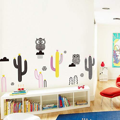 Kaktus Geschichte Wand Aufkleber Home Decor DIY abnehmbare für Wohnzimmer/Schlafzimmer / Kinderzimmer/Kindergarten