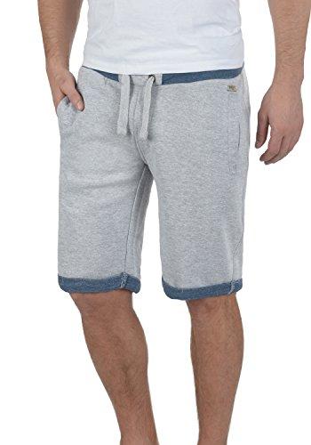 BLEND Sonny Herren Sweat-Shorts kurze Hose Sport-Shorts aus hochwertiger Baumwollmischung Stone Mix (70813)