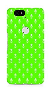 Amez designer printed 3d premium high quality back case cover for Huawei Nexus 6P (Volleyball Pattern2)
