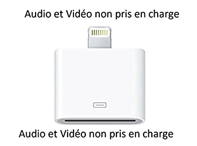 Innova® Adaptateur De Connexion Pour iPhone 5, iPad Mini, iPhone 4, iPod touch 5, iPod Nano 7G, mini iPad, iPad 4G de Innova