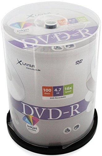 xlayer-dvd-r-47-gb-120-min-16x-full-printable-100-pieces-in-cakebox