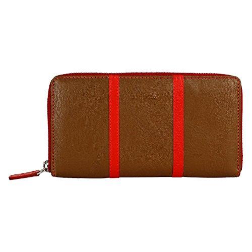 amicraft-BrownRed-Genuine-Leather-Womens-Wallet-N101