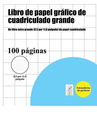 Libro de papel gráfico de cuadriculado grande: Un libro extra grande (8.5 por 11.0 pulgada) de papel cuadriculado por Bernard Patrick