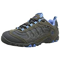 Hi-Tec Women Penrith Waterproof Low Rise Hiking Boots, Grey (Grey/Charcoal/Cornflower), 6 UK (39 EU)
