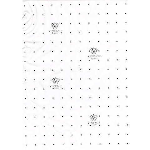 2metros de lunares y Cruz Patrón Papel marcada en inches- 36