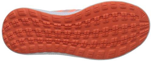 Adidas Performance fresco rimbalzo W scarpa da corsa, nero / nero / mezza rosa, 5 M Us Sun Glow Yellow/Half Pink/Orange