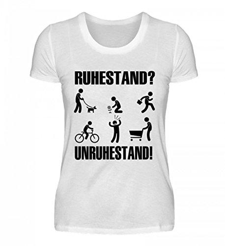 Camicia Bio Da Donna Di Alta Qualità - Pensione - Pensione! Bianco