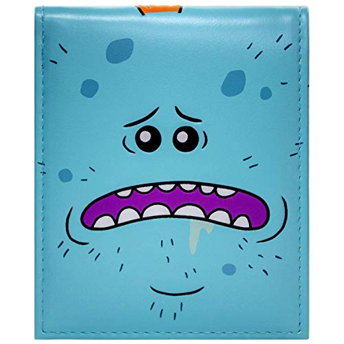 Cartera de Rick & Morty Mr Meeseeks Existence is Pain Azul
