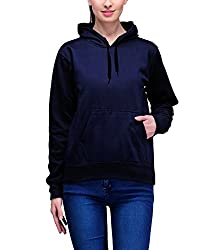 Scott Womens Premium Cotton Pullover Hoodie Sweatshirt - Navy Blue - 1.1_lssh6_XL