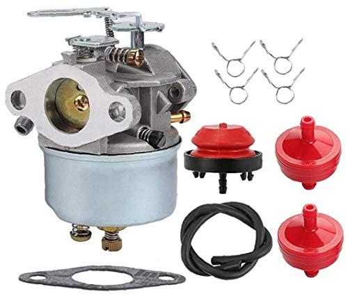 Hainice 632113A 632113 Vergaser mit Kraftstoff-Filter-Linie Vorpumpball Turn Up Kit für Tecumseh HS40 HSSK40 Motor Toro Schneefräse Teile Ersatzteil