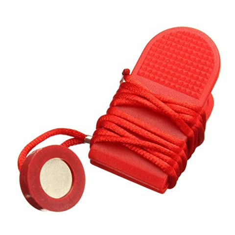 Switch Lock - SODIAL(R) Running Machine Safety Key Treadmill Magnetic Switch Lock Fitness Red