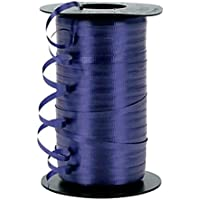 Wedding Balloon Curling Crimped Ribbon Craft 3/16 - Navy Blue by Creative