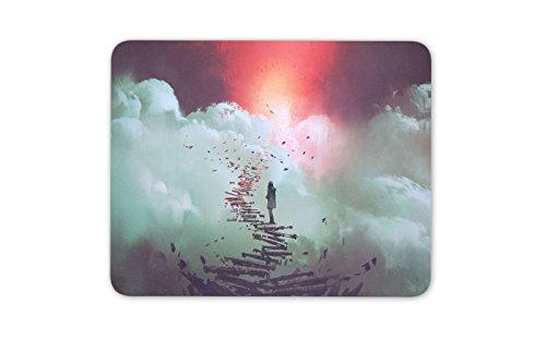 Erstaunliche Fantasie Wolken Mauspad Pad - Space Gamer Galaxy Geschenk-Computer # 14000 (Erstaunliche Fantasie)