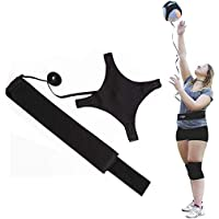 LDY Ultimate Volleyball Trainer Practice Belt,Outdoor Training Football Top Ball Adjustable Belt Trainer Aid Accessories