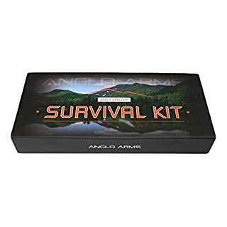 Anglo Arms, Unisex Outdoor Survival-Set, Mehrfarbig