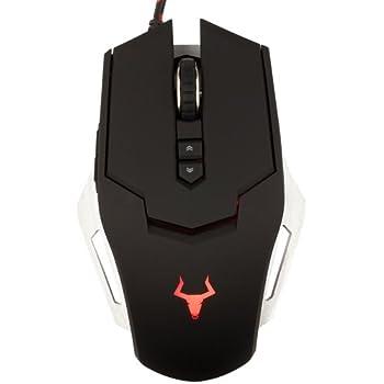 Itek ITMGG78 Mouse da Gaming, 3500 dpi, Nero
