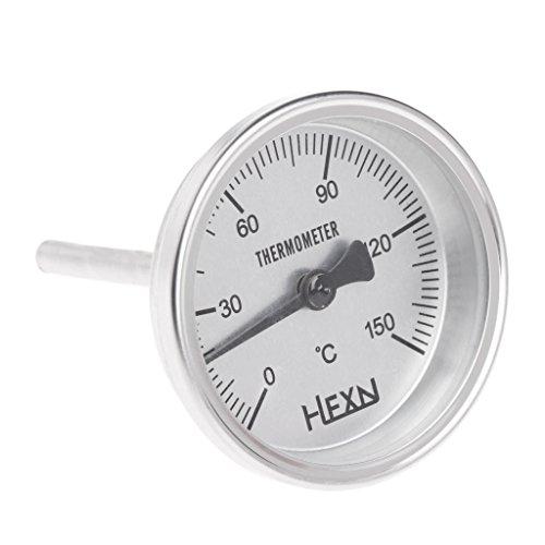1/4 PT Gewinde Edelstahl Thermometer Mondschein Küche Lebensmittel Kochmesser
