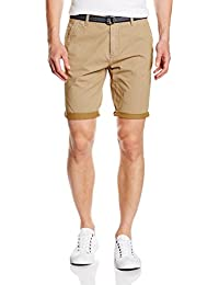 Tom Tailor Denim Allover Printed Chino Bermuda, Short Homme