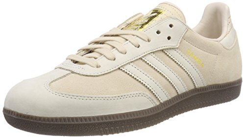 low priced 10af5 a9b39 adidas Samba FB, Chaussures de Fitness Homme, Beige Lino Dormet 000, 44