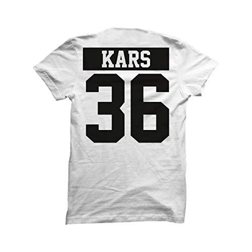 Türkei Türkiye T-Shirt Shirt Weiss Wunschdruck (M, 36 Kars) - Kars Türkei