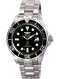 Invicta 3044 Pro Diver Men's Wrist Watch Stainless Steel Automatic Black Dial