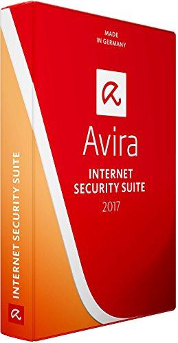 Avira Internet Security Suite 2017 | Neuste Edition von der Herstellerseite | 3 Geräte | 1 Jahr mit den neuesten Updates (BOX-Pack)