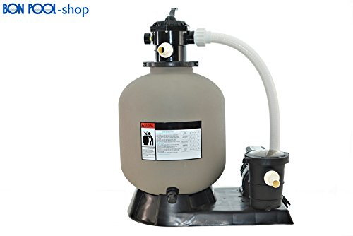 Filtre à sable avec filtre avec pompe jusqu'à 40 m³ bonpool®