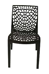 Supreme Set of 4 Chairs (Black)