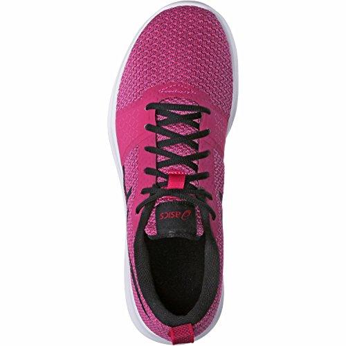 Asics Damen Kanmei Laufschuhe Pink (Cosmo Pink/black/plune)