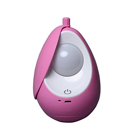ledmomo LED-Nachtlicht batteriebetrieben Creative Nachtlicht Kinderzimmer Sparlampen Nachttisch Füttern Schlafzimmer (Pink)
