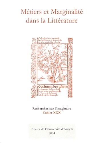 Lire un Métiers et marginalité dans la littérature: Cahier XXX pdf, epub ebook