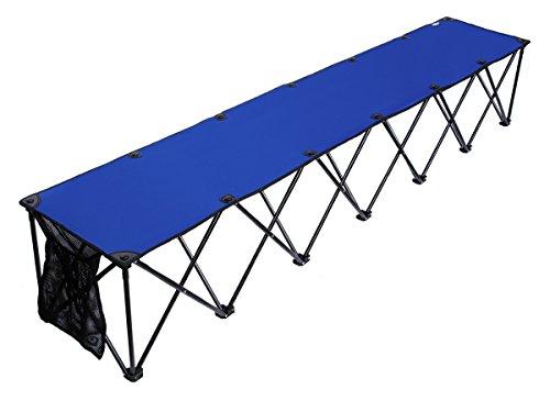 Travelchair travelbench Original 6-Sitzer Sideline Bench, Unisex, blau