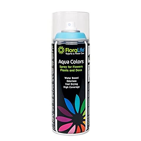 400ml Oasis Water Based Floralife® Aqua Color Spray Paint Ocean Blue (3987)