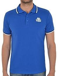 Kappa - July h royal polo - Polo manches courtes - Bleu moyen - Taille M