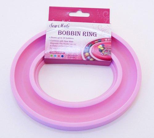 Sew Mate Spulen-Ring, Aufbewahrungslösung für bis zu 30 Nähmaschinenspulen, Pink -