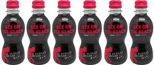 El Fuego - Sex On The Beach Cocktail (6 x 0.2 l)