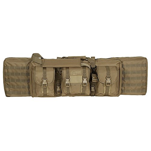 """Voodoo Tactical 42"""" Padded Weapons Case - Holds 4 weapons Waffentasche (Coyote (Tan))"""
