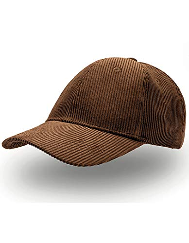 Basic Cord Baseballcap Basecap Cap Baumwollcap Kappe Cordcap Baumwollcap Cap (One Size - braun)