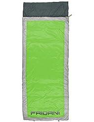 Fridani QG 225S XL Camping Schlafsack bis -7°C Outdoor Deckenschlafsack 225x85cm Hüttenschlafsack mit 1800 g für 3 / 4 Jahreszeiten Frühling Sommer Herbst