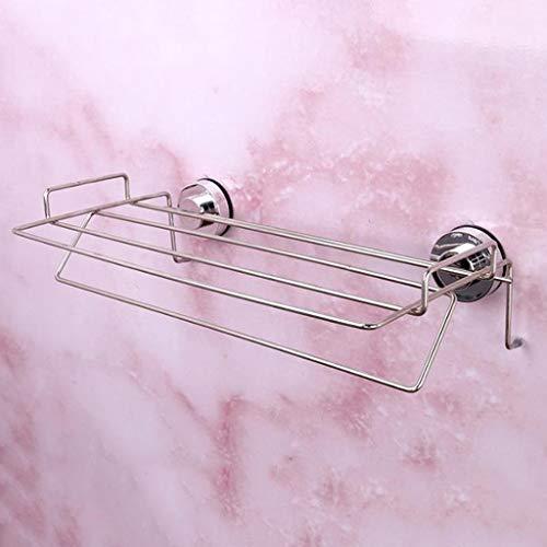 M-YN Handtuchhalter Wand Bad, Handtuchhalter Wand befestigte Adhesive Tuch-Stab-Staubsaug Handtuchhalter mit for Bad und Küche (16 Zoll)