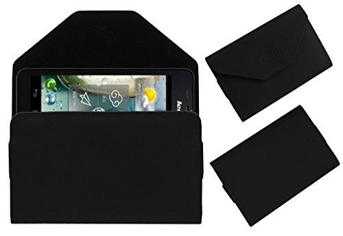 Acm Premium Pouch Case For Lenovo P770 Flip Flap Cover Holder Black  available at amazon for Rs.179