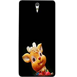 Casotec Lamb Design Hard Back Case Cover for Sony Xperia C5 Ultra Dual