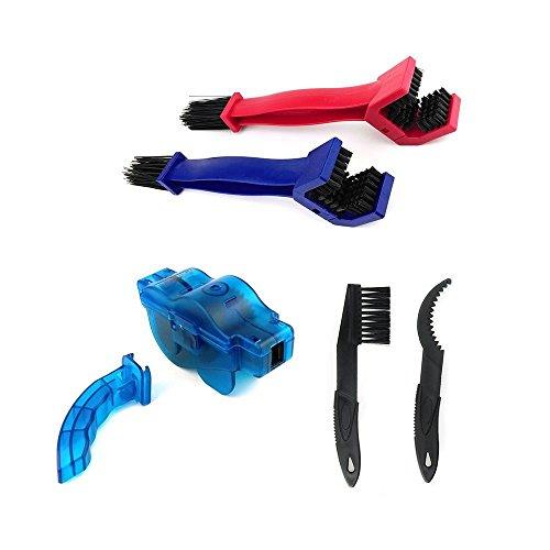 Preisvergleich Produktbild Fahrrad Kettenreinigungsgerät, YunLi Bike Chain Cleaning Tool Rotating Brushes Chain Gear Cleaner Washer Set, Bike Bicycle Chain Washer Cleaner Cleaning Brushes
