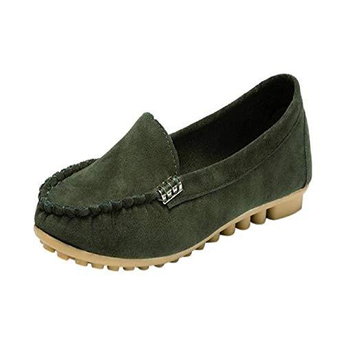 Yesmile Zapatos para Mujer❤️Zapatos de Mujer cómodos para Damas Zapatos de Playa cómodos sin Cordones Casual Planos Loafers, Adecuado para Todas Las Estaciones