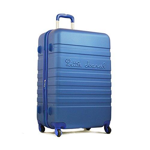 Grande valise 70 cm Bleu Little Marcel