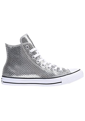 converse-damen-ctas-hi-lauflernschuhe-sneakers-silber-silver-black-white-395-eu