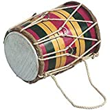 Deals India Mini Dholak for kids or decoration