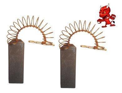 Preisvergleich Produktbild Kohlebürsten Motorkohlen passend für Bosch WFF 1480 , WFF 1491 , WFF 1600 , WFF 1601