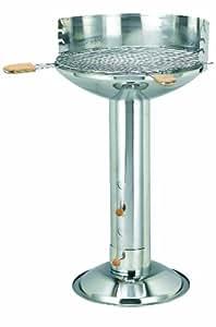 "Tepro 336C ""Oregon"" Barbecue verticale a carbonella in acciaio INOX"